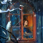 By the window by Cocodrillo