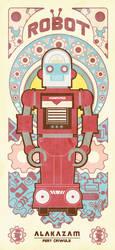 VINTAGE ROBOT SERIES 1 by reefboys