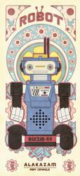 VINTAGE ROBOT SERIES 3 by reefboys