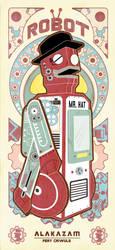 VINTAGE ROBOT SERIES 4 by reefboys