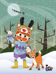 Me and Rudolph by reefboys