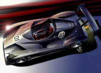 Racing prototype by Carloske