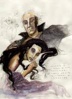 Frollo x Esmeralda by ValyChan