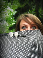 me and umbrella by Kroshka-Kapron
