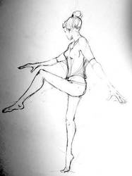 Ballet study by lamelobo