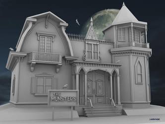 Munsters Mansion by VoodoomanDan