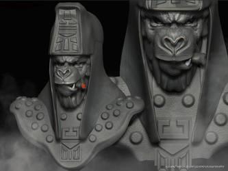 GEN.URSUS bust by VoodoomanDan