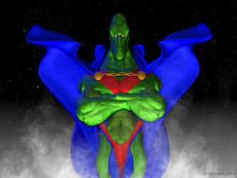 Martian Manhunter2 by VoodoomanDan