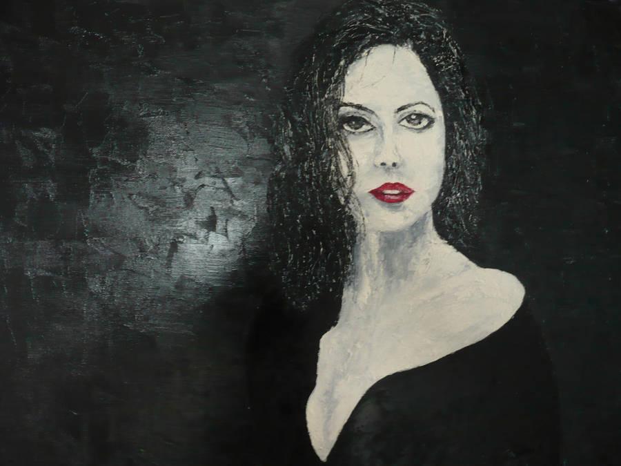 Long Cool Woman In A Black Dress By Gregnix On Deviantart