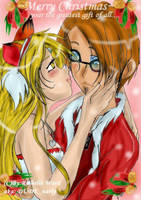Gaian couple for CHRISTMAS by tooty-fruity