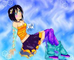 my gaia character ..again.. ha by tooty-fruity