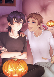Halloween - Voltron by Didules