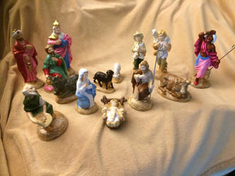 More manger scene pieces by Uzuri