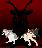Revenge of the Elk by Uzuri