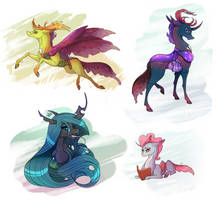 Changelings set by Marbola