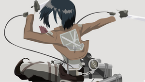 Mikasa Ackerman - Shingeki no Kyojin by noerulb