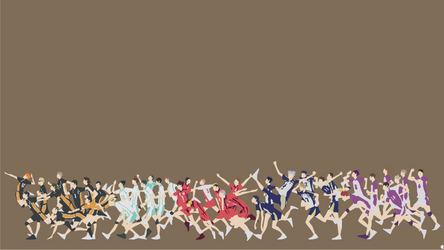 Haikyuu!! 3rd Season | Minimalist by noerulb