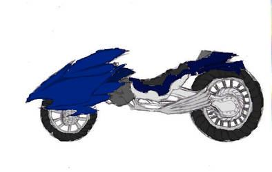 Regina's Bike Colored by dmcblooddevil