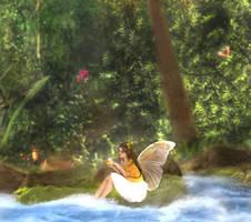 Spring Fairy by DeVillette