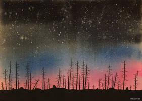 Dark forest by HellenManson