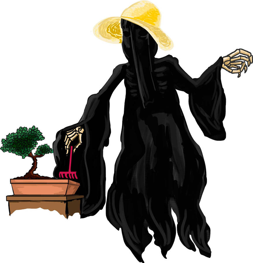 Inktober Trangquil Dementor by zaceron