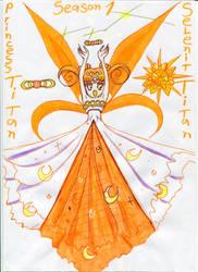 Sailor Titan Princess Titan - season 1 tv by Selenit-Saturn