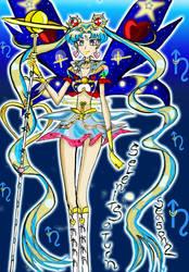 Selenit Saturn Season 2  Power 2 Sailor Moon 2013 by Selenit-Saturn