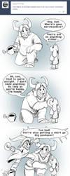 Comic:  Merch 2 by AbsoluteDream