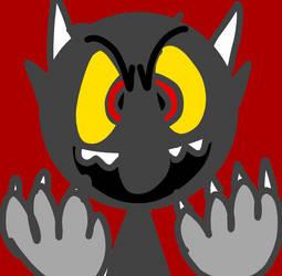 Cuphead - The Devil by Pokerchop