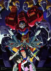 Burning Gundam's great triumph! by ninjakingofhearts