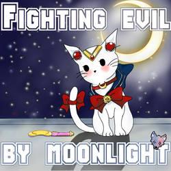 Sailor moon kittie by TwoFacedWolf
