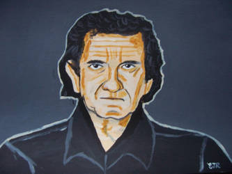 Christian Heroes: Johnny Cash by wwwEAMONREILLYdotCOM