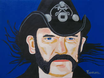 THE LATE GREAT #LEMMY FROM #MOTORHEAD by wwwEAMONREILLYdotCOM