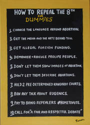 HOW THEY #REPEALEDTHE8TH FOR DUMMIES by wwwEAMONREILLYdotCOM