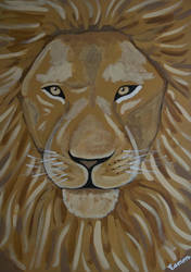 LION - THE REAL ALPHA MALE by wwwEAMONREILLYdotCOM