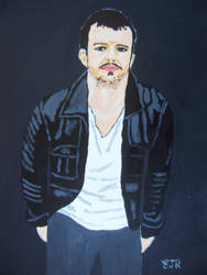 THE KILLERS' BRANDON FLOWERS by wwwEAMONREILLYdotCOM