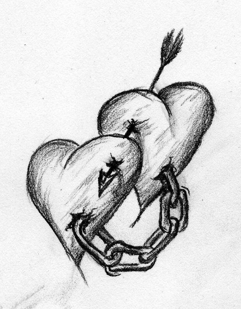 hearts in chains by Opsartis