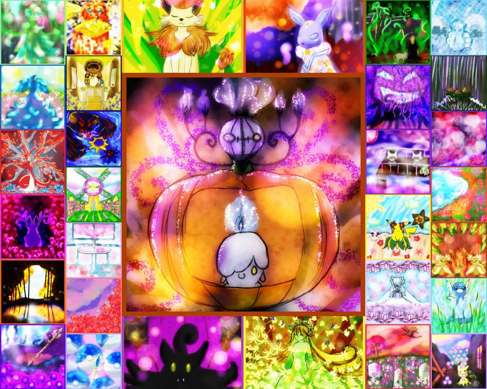 October Art Mush ~ by MitsukuniHanizuka