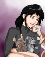 Kitties Love Life by hlwar