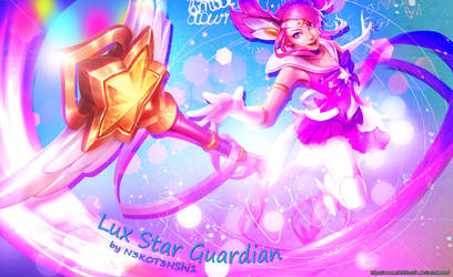 Lux Star Guardian Wallpaper by N3K0T3NShi1