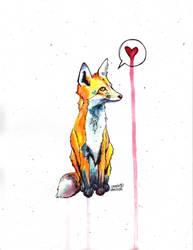 Fox by SarahBeavis