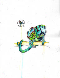 Chameleon by SarahBeavis