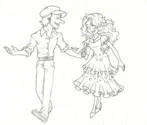 One piece- Dance the night away by Proxamina