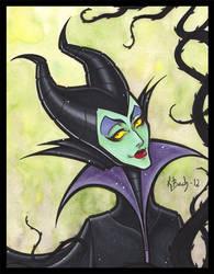 Maleficent by BlueUndine