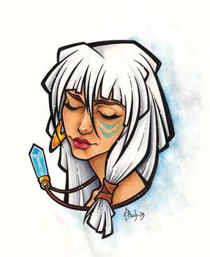 Princess Kida by BlueUndine