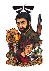 The Last of Us by BlueUndine