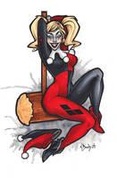 Harley Quinn by BlueUndine