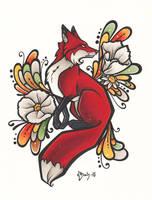 Fox by BlueUndine