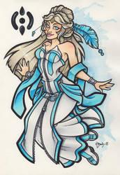 Ardra - Goddess of Fate by BlueUndine