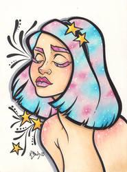Galaxy by BlueUndine